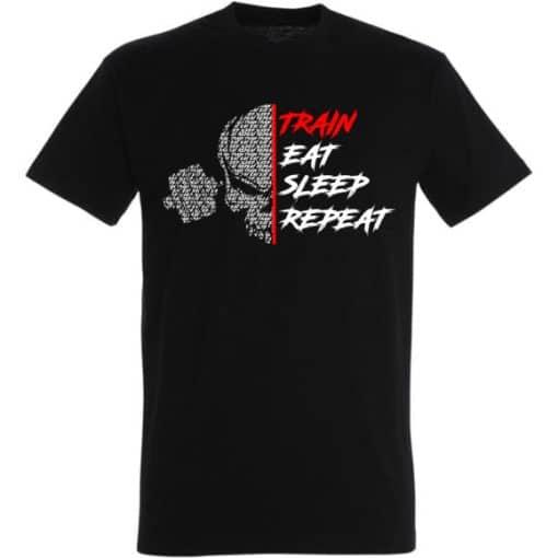 tshirt train eat sleep repeat