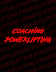 coach powerlifting - coach 3 mouvements - coach squat - coach développé couché - coach soulevé de terre