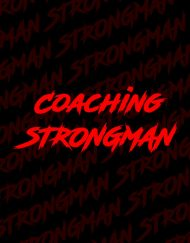 coach strongman - strongman coaching - bruno szambe