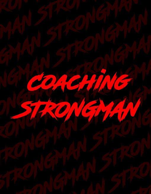 coach strongman - strongman coaching - bruno szambe