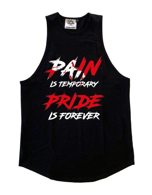 debardeur pain is temporary pride is forever