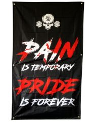 drapeau homegym pain-is-temporary pride is forever