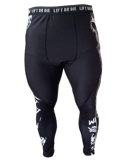 legging muscu homme noir - fitness