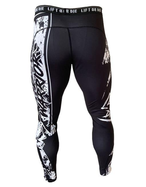 legging noir lift or die homme - legging musculation fitness