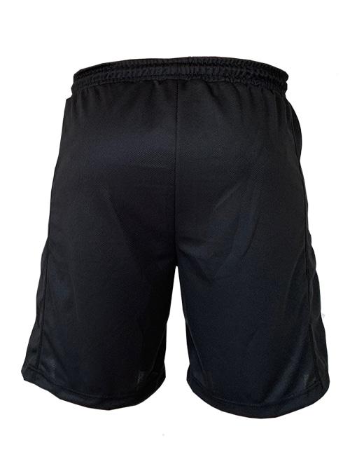 short bodybuilding noir - short fitness warrior gear