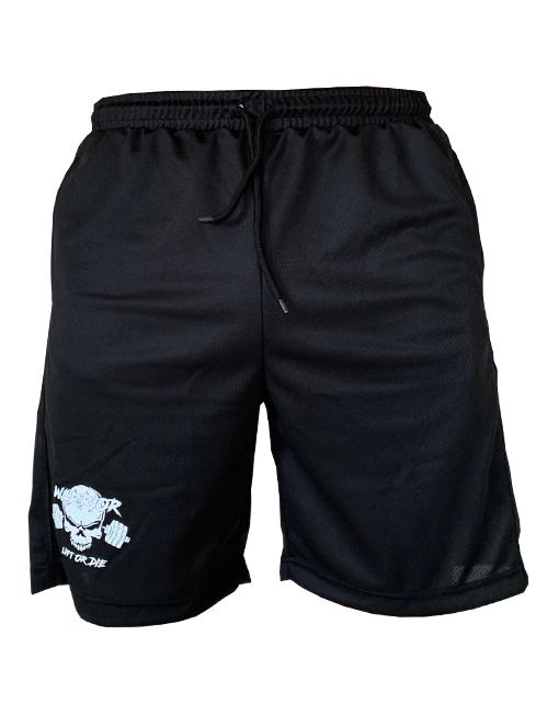 short fitness warrior gear - short noir pour la musculation